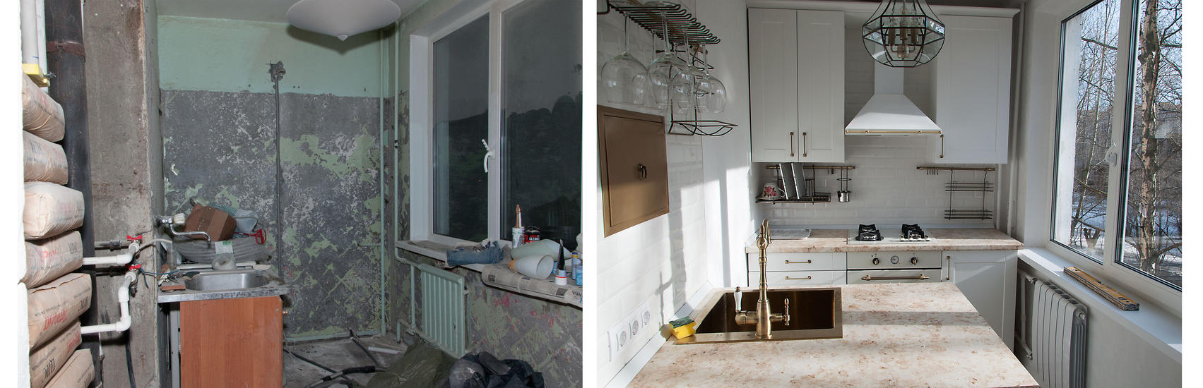 Фото квартир до ремонта и после своими руками