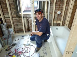 ремонт в ванной 2