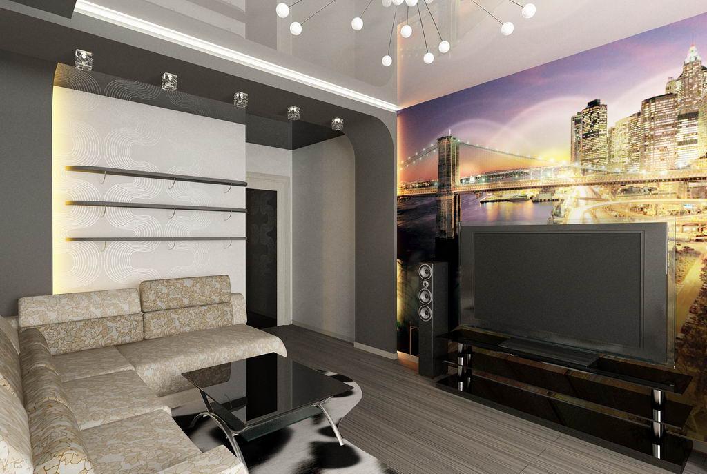 Ремонт квартир фото гостиной своими руками